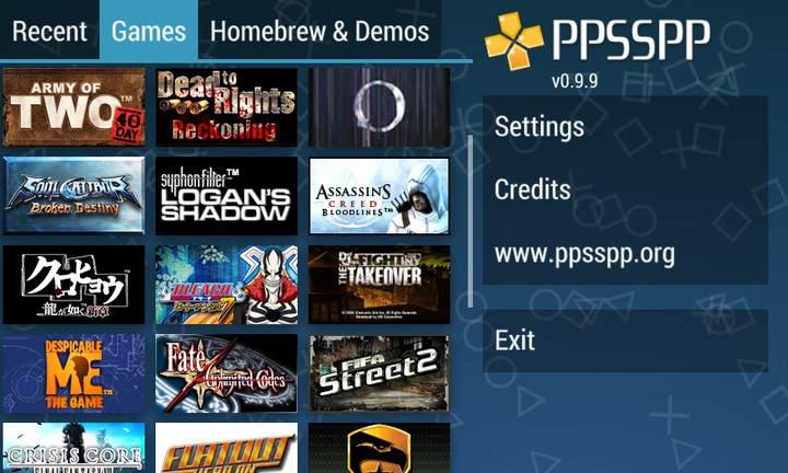 ppsspp all games