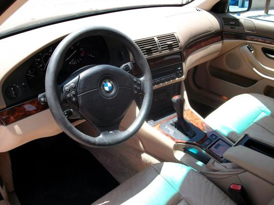 2000 01 Red Bmw 5 Series Auto 528i Sport Cream Interior 6