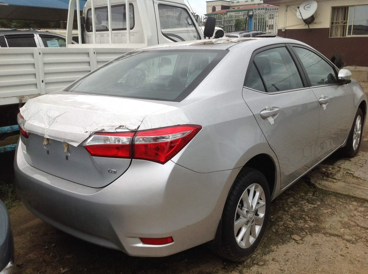 brand new 2015 toyota corolla le for sale autos nigeria. Black Bedroom Furniture Sets. Home Design Ideas