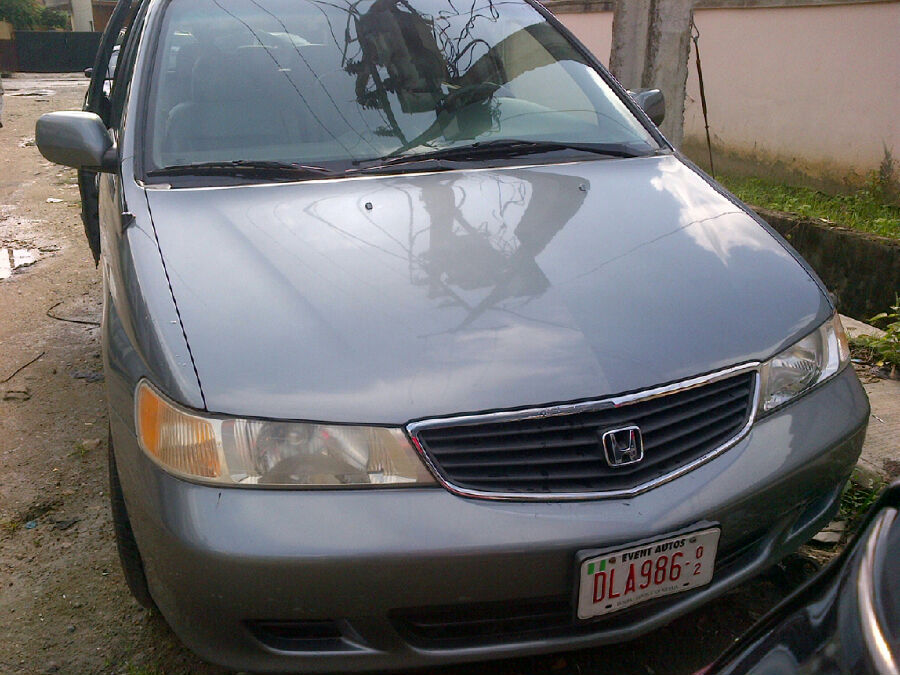 lagos cleared 2001 honda odyssey tokunbo full option 2power doors for sale 1 1m autos nigeria. Black Bedroom Furniture Sets. Home Design Ideas