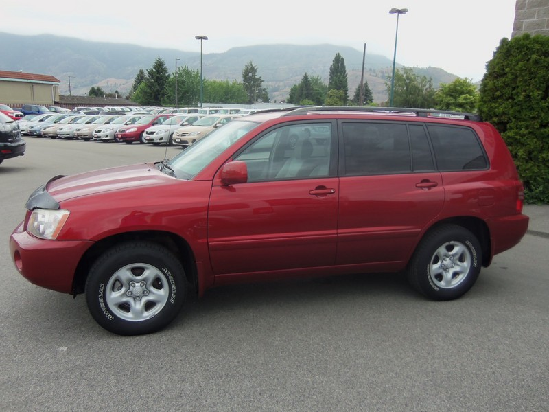 2002 2005 Toyota Highlander Lmited Red Autos Nigeria