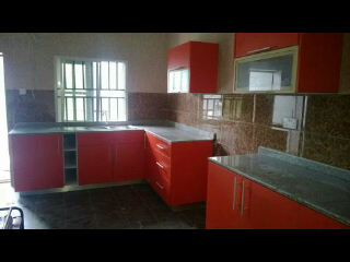 Kitchen cabinets wardrobes beds and other wood works for Kitchen designs in nigeria
