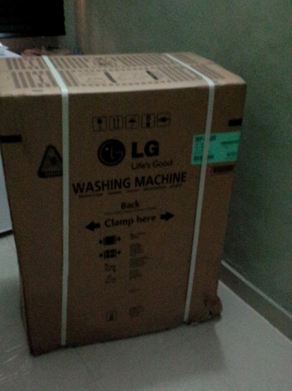Brand New Lg Washing Machine For Your Home  Unopened In Box  - Properties