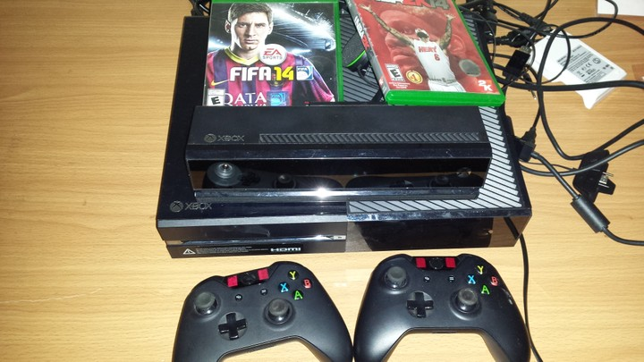 Xbox One With Two Controllers,fifa 14 And Nba 14 For Sale - Video Games And Gadgets For Sale ...