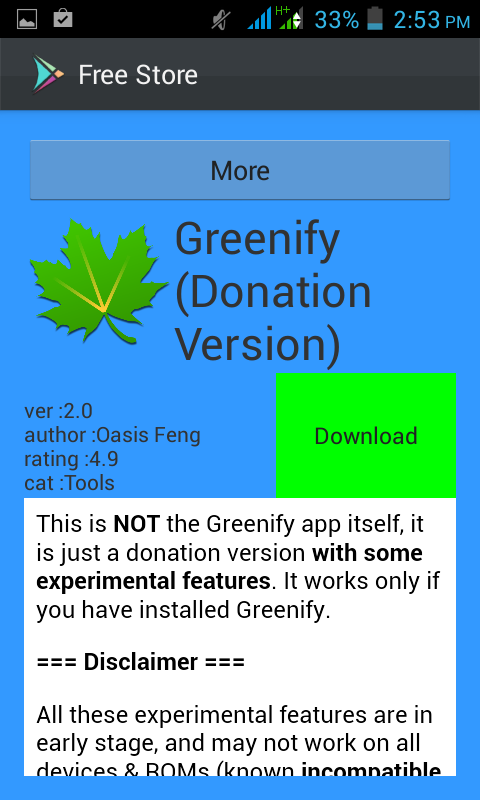 greenify donation 2.3 apk cracked