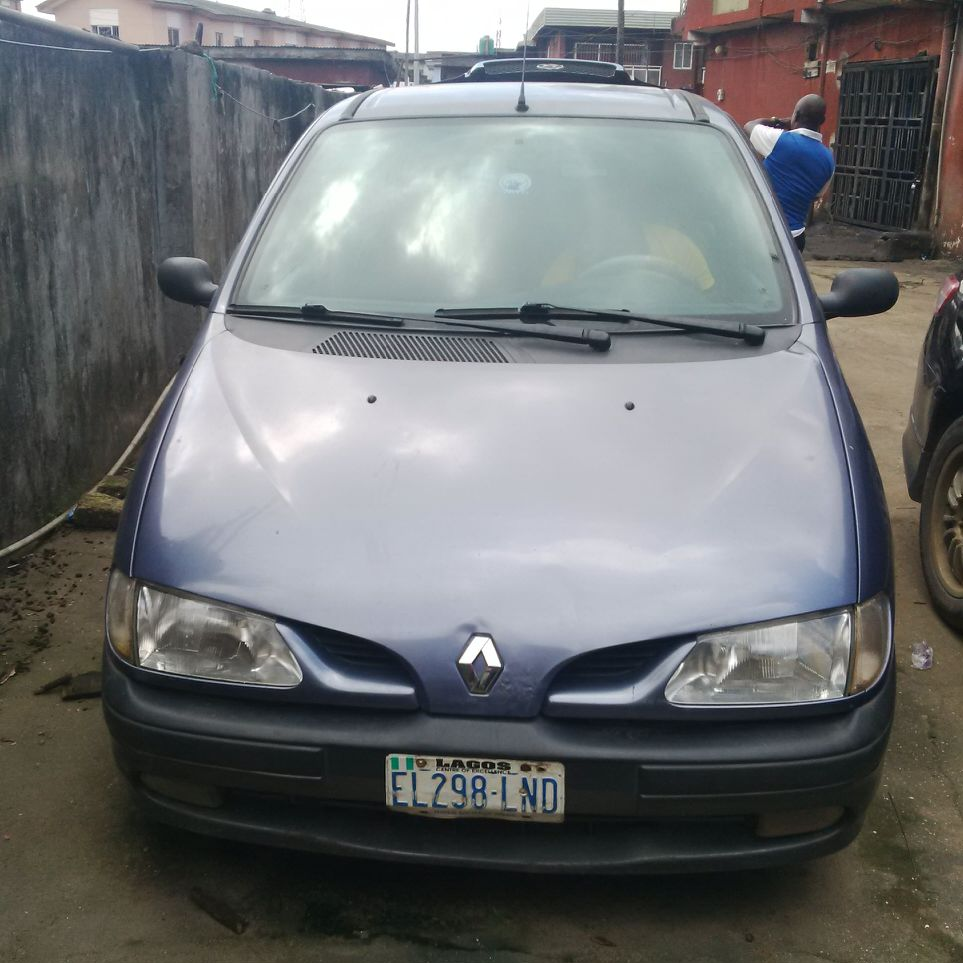 tokunbo renault megane scenic 1999 n500 autos nigeria. Black Bedroom Furniture Sets. Home Design Ideas