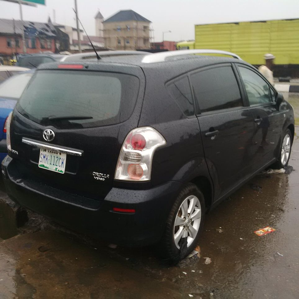 registered toyota corolla verso 2007 n1 980 autos nigeria. Black Bedroom Furniture Sets. Home Design Ideas