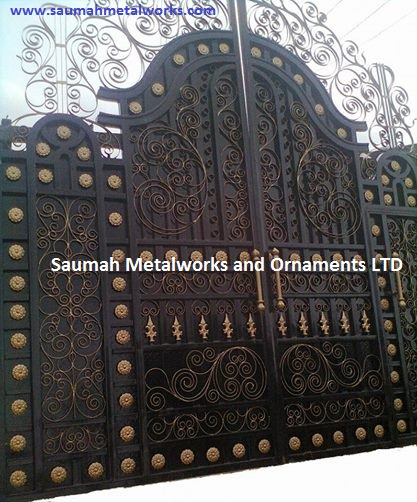 High Quality Gates And Other Steel Works Fabrication