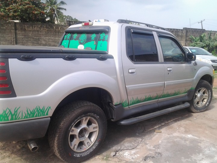 ford explorer pick up truck for sale lagos cleared autos nigeria. Black Bedroom Furniture Sets. Home Design Ideas