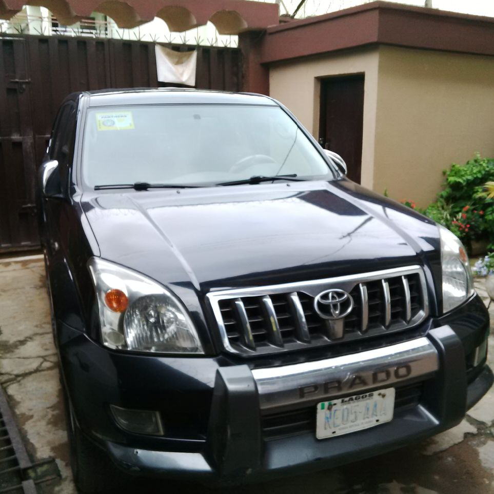 Registered Toyota Prado