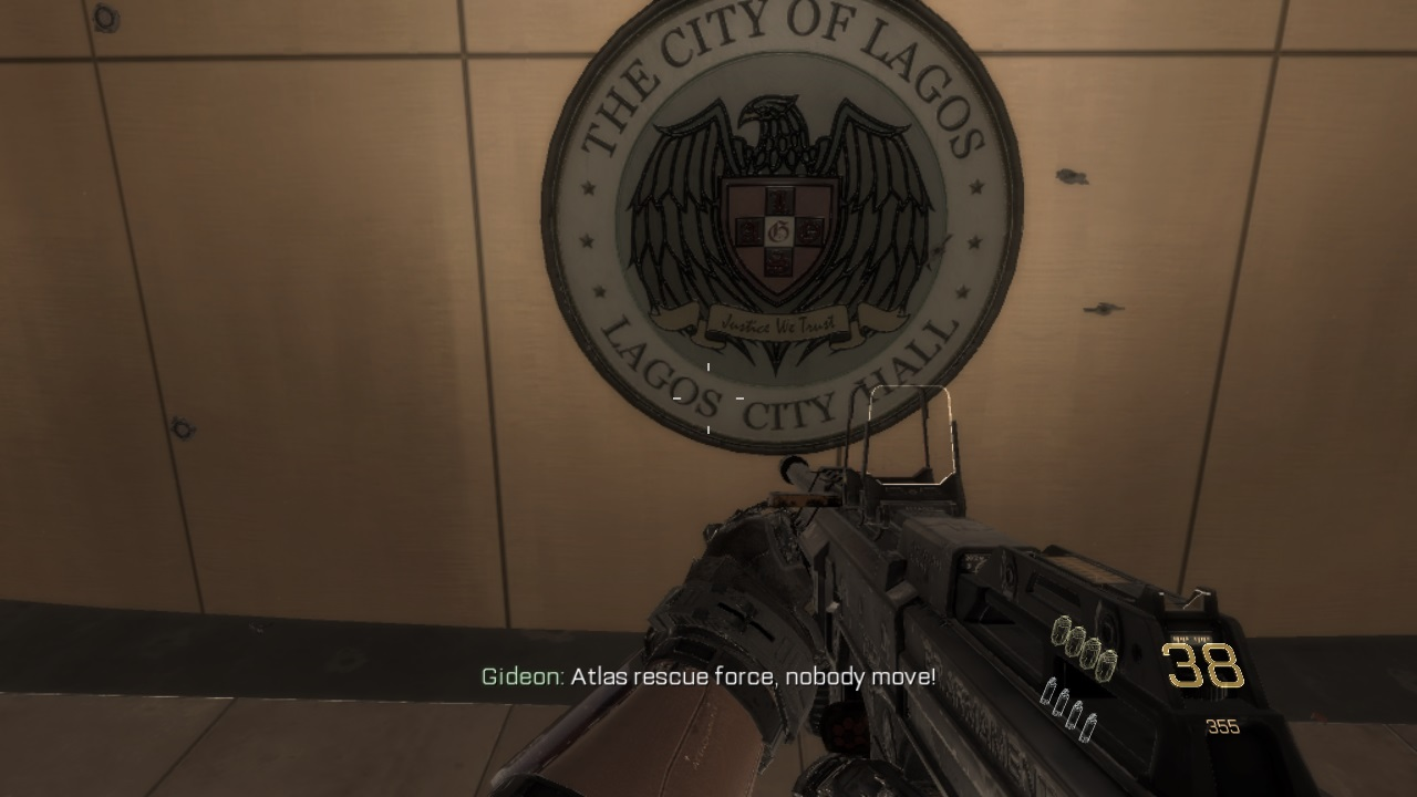 Lagos State Featured In Call Of Duty Game Advanced Warfare Ps4 Game (See Photo)