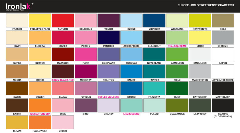 Dulux colour wheel affordable details about ici dulux for Paint charts for kitchens
