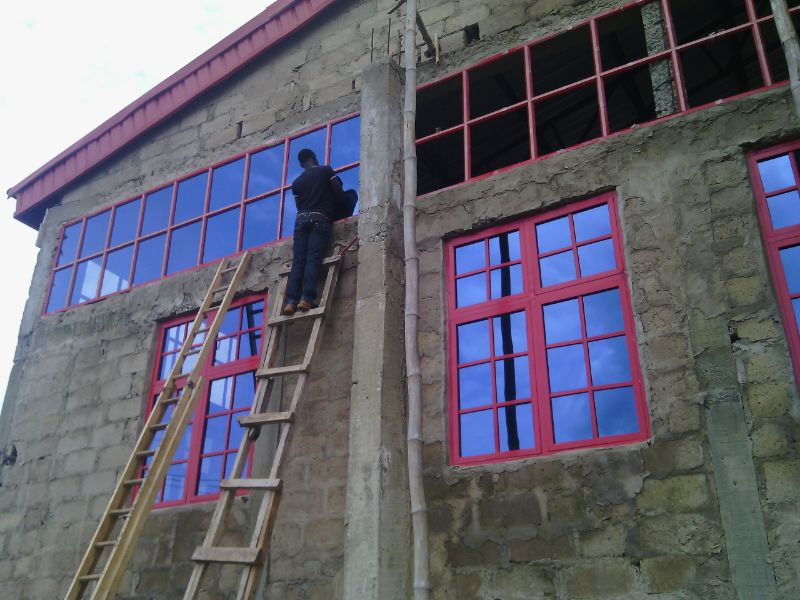Check d aluminum doors window fabrication designs for Nigeria window design