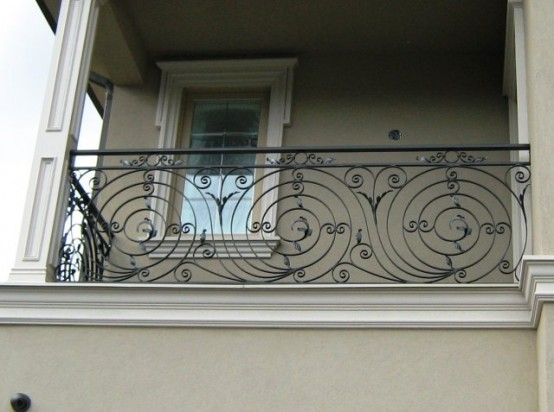 Balcony Rails Stair Rails Amp Fencing Rails Wrought Iron