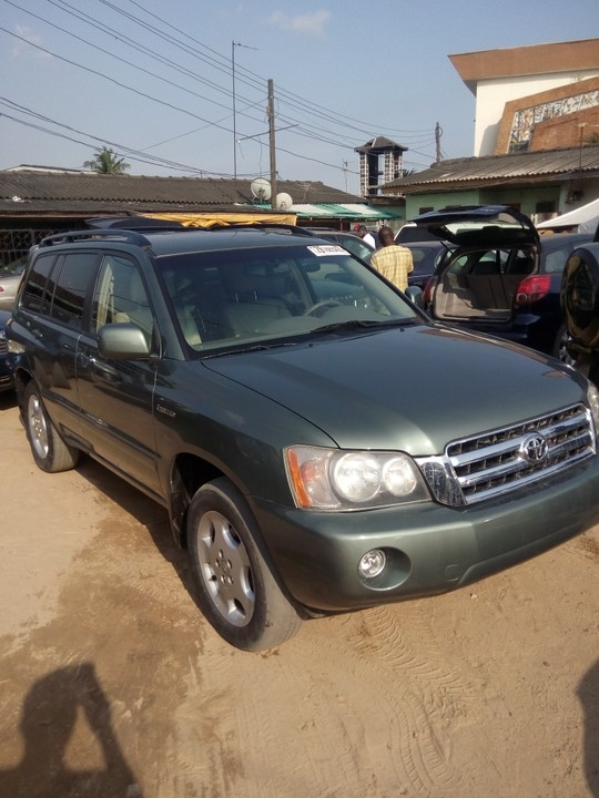 2004 toyota highlander limited edition for sale asking price autos nigeria. Black Bedroom Furniture Sets. Home Design Ideas