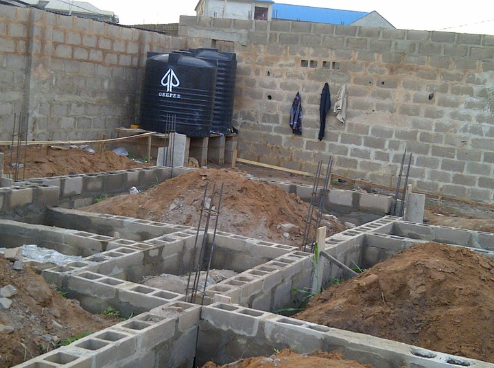 Construction Of Six Flats Of 2 Bedroom With Three Shops