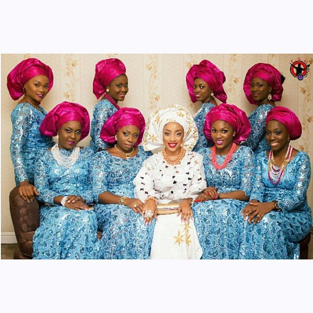 The Most Popular Aso Ebi Color Combination For Wedding Fashion Nigeria
