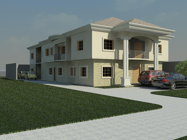Affordable architectural designs for nairalanders for Nigerian architectural designs