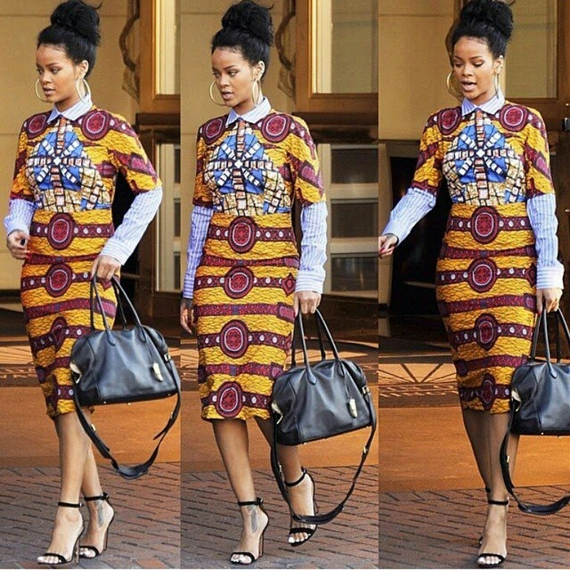 White Trash In The White House Talks Education: Rihanna Rocks Ankara To The White House