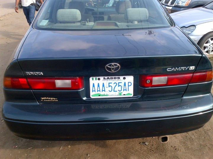toyota camry 2 2 for sale autos nigeria. Black Bedroom Furniture Sets. Home Design Ideas