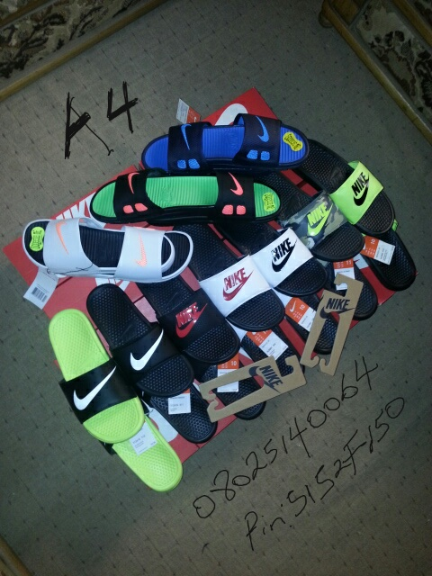 finest selection c2a2d 69618 Nike Benassi Slippers In Various Colours For Sale - Fashion ...