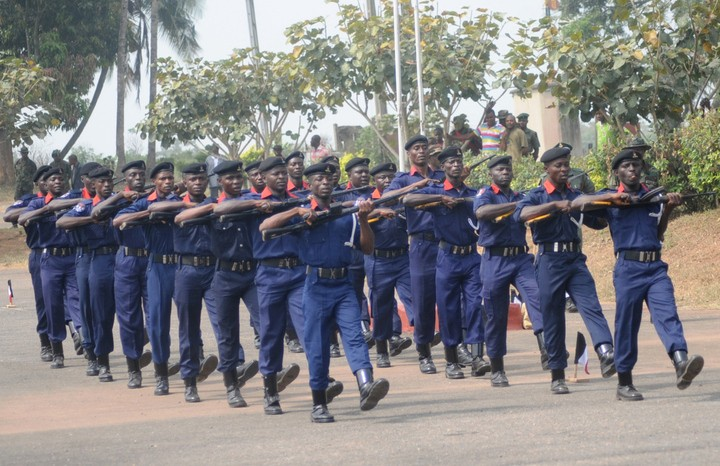 Image result for Nigerian Army trains NSCDC officers in Minna