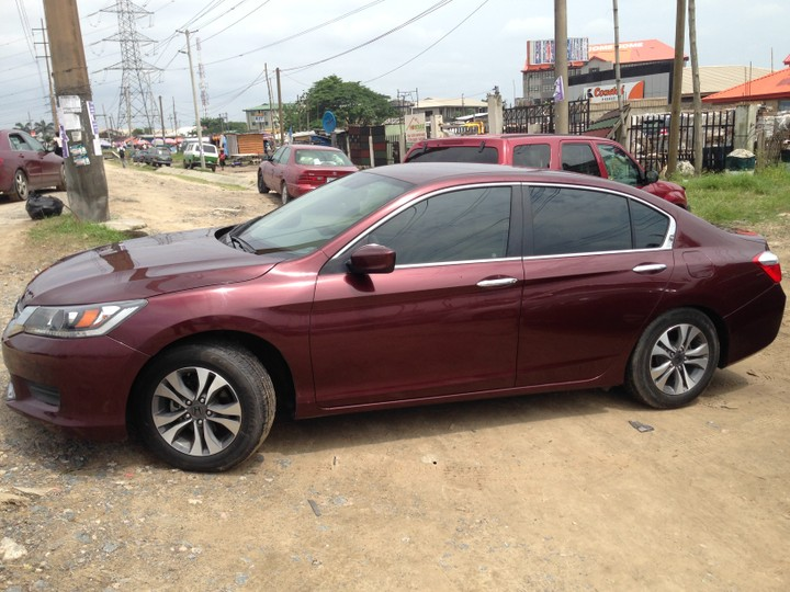honda accord 2013 black price 5m colour wine autos nigeria. Black Bedroom Furniture Sets. Home Design Ideas