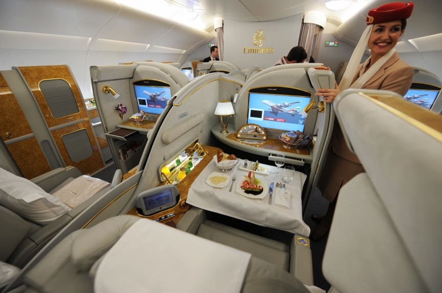 Image result for The $21,000 First Class Airplane Seat Images