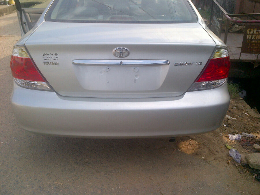 lagos cleared lovely tokunbo 2006 toyota camry leather interior for sale autos nigeria. Black Bedroom Furniture Sets. Home Design Ideas