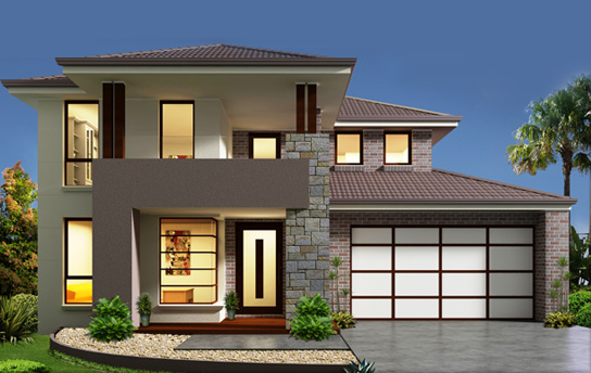 one 1 kanal 3d front elevation house likewise small double storey house design besides large one