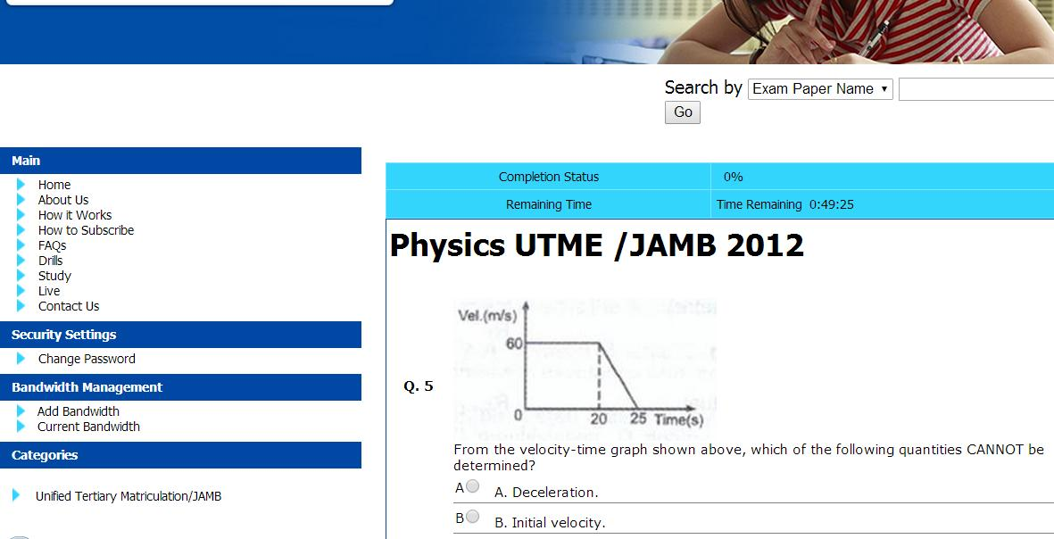 Physics Jamb Past Question Pdf