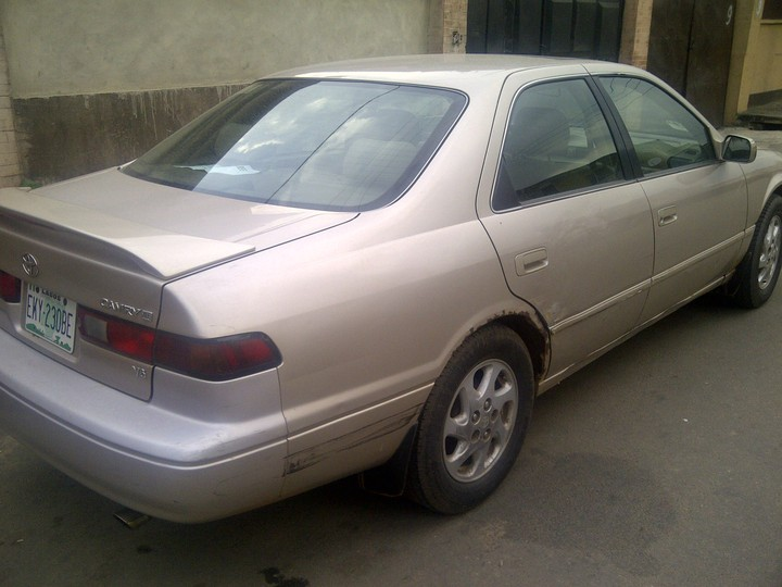 1999 toyota camry for sale very good a c leather seat first paint and so on autos nigeria. Black Bedroom Furniture Sets. Home Design Ideas
