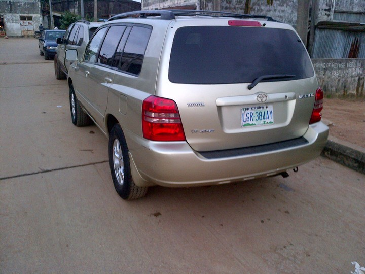 2002 toyota highlander limited edition for sale autos. Black Bedroom Furniture Sets. Home Design Ideas