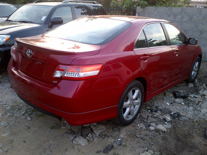 2008 toyota camry sport tokunbo for sale very clean and cheap autos nigeria. Black Bedroom Furniture Sets. Home Design Ideas