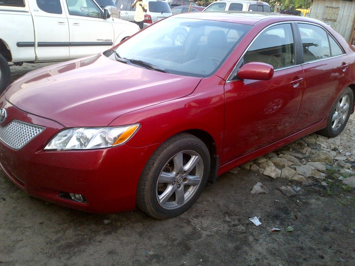 2008 toyota camry sport tokunbo for sale very clean and. Black Bedroom Furniture Sets. Home Design Ideas