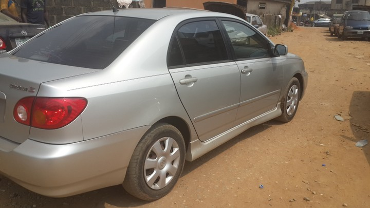 sparkling clean 2004 toyota corolla sport for sale autos. Black Bedroom Furniture Sets. Home Design Ideas