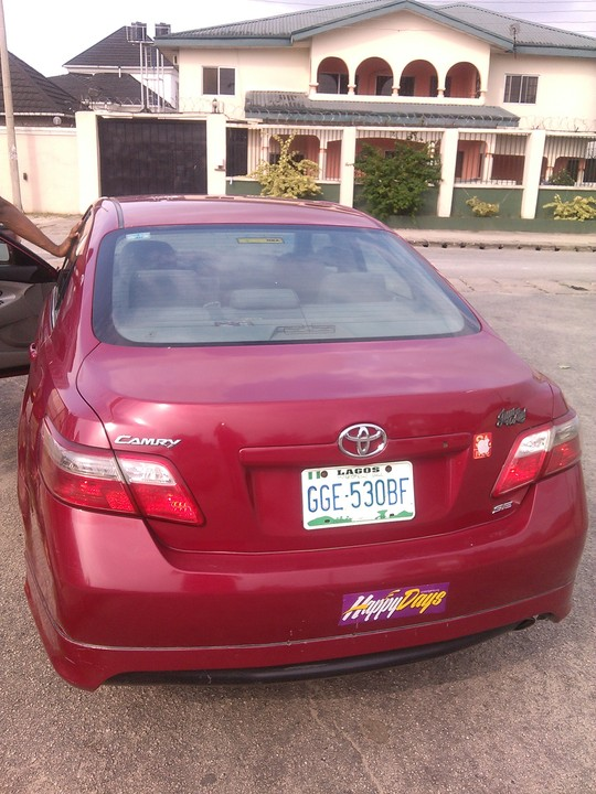 registered 2008 camry sport edition for sale in ph call john 08067880681 autos nigeria. Black Bedroom Furniture Sets. Home Design Ideas