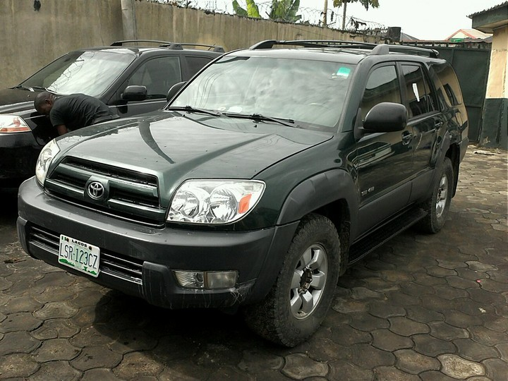 2004 toyota 4runner for sale in ph autos nigeria. Black Bedroom Furniture Sets. Home Design Ideas