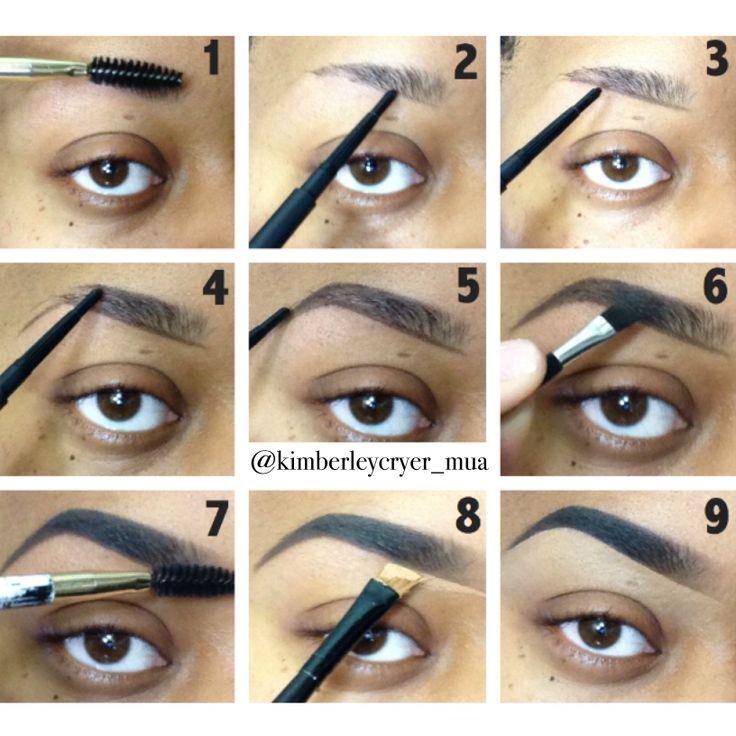 Steps Get Perfect Eyebrow Fashion Nigeria