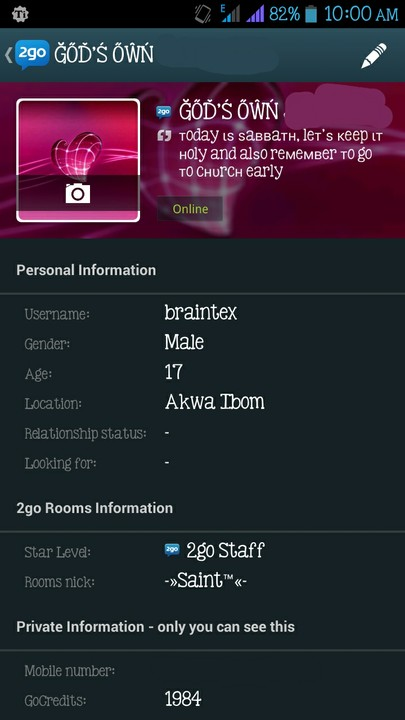 ☆ How To Change Your 2go Display Name☆ [photos] - Phones