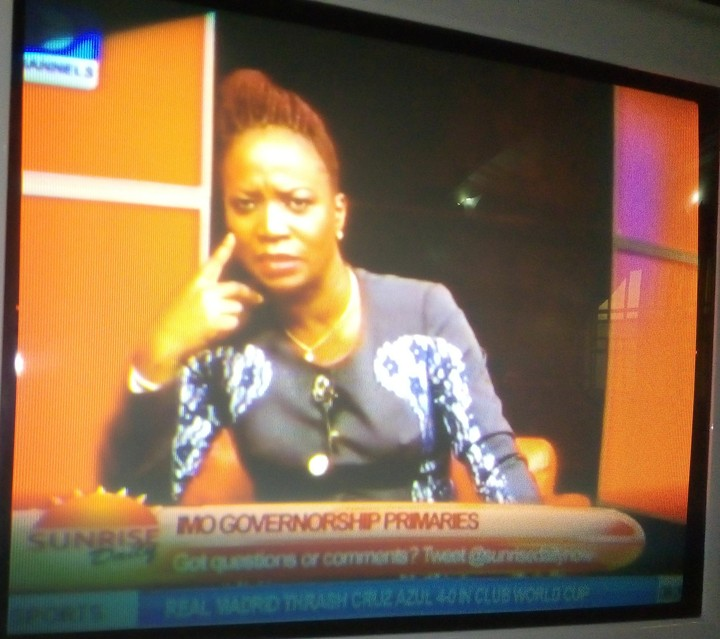 NIPPLE ALERT - ChannelsTV Maupe Ogun Forgot To Wear Her Bras This Morning(pic)