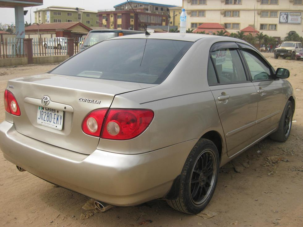 a registered 2006 toyota corolla for sale 1m autos nigeria. Black Bedroom Furniture Sets. Home Design Ideas