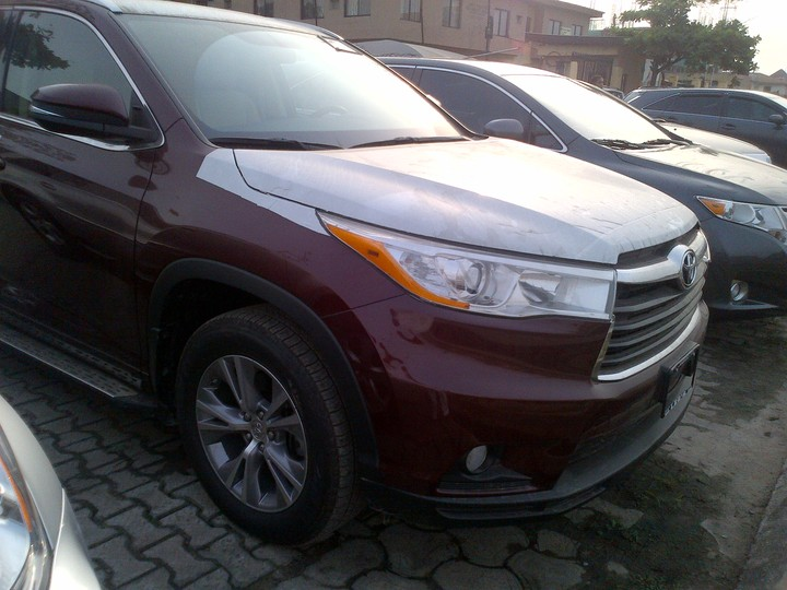 2014 toyota highlander brand new for sale autos nigeria. Black Bedroom Furniture Sets. Home Design Ideas