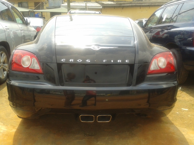 chrysler crossfire 2004 for sale for boys with swag 08162510433 autos nigeria. Black Bedroom Furniture Sets. Home Design Ideas