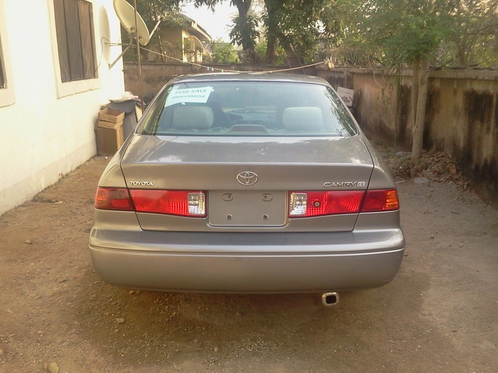 toyota camry 2000 available for quick sale in abuja autos nigeria. Black Bedroom Furniture Sets. Home Design Ideas