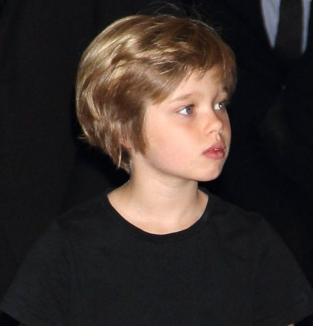 Angelina Jolie Brad Pitt Daughter John