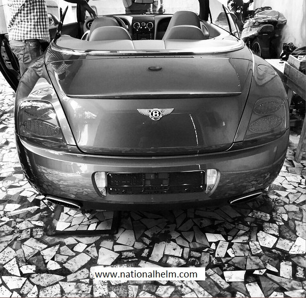 Photo; Wizkid Gets Himself A New Ride, A Bentley