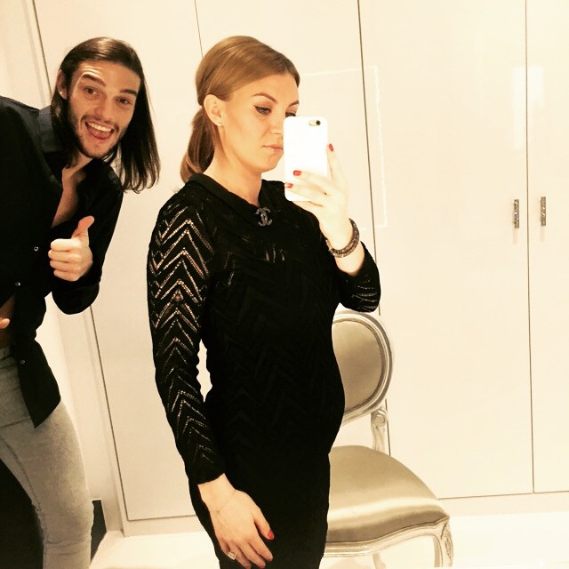 West Ham Striker Andy Carroll And Girlfriend Expecting ...