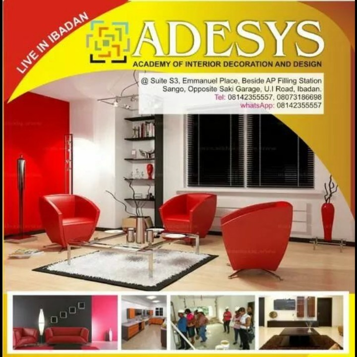 Learn interior decoration design in ibadan adverts for Interior decoration nigeria