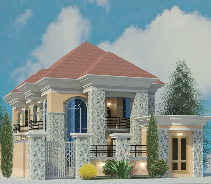 Modern roofing designs in nigeria modern house for Nigeria building plans and designs